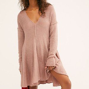 Free People Dancing in the Forest Sweater Dress